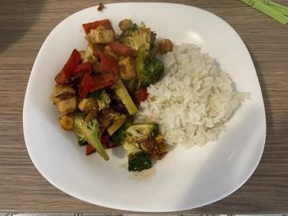 Stir fry, tofu