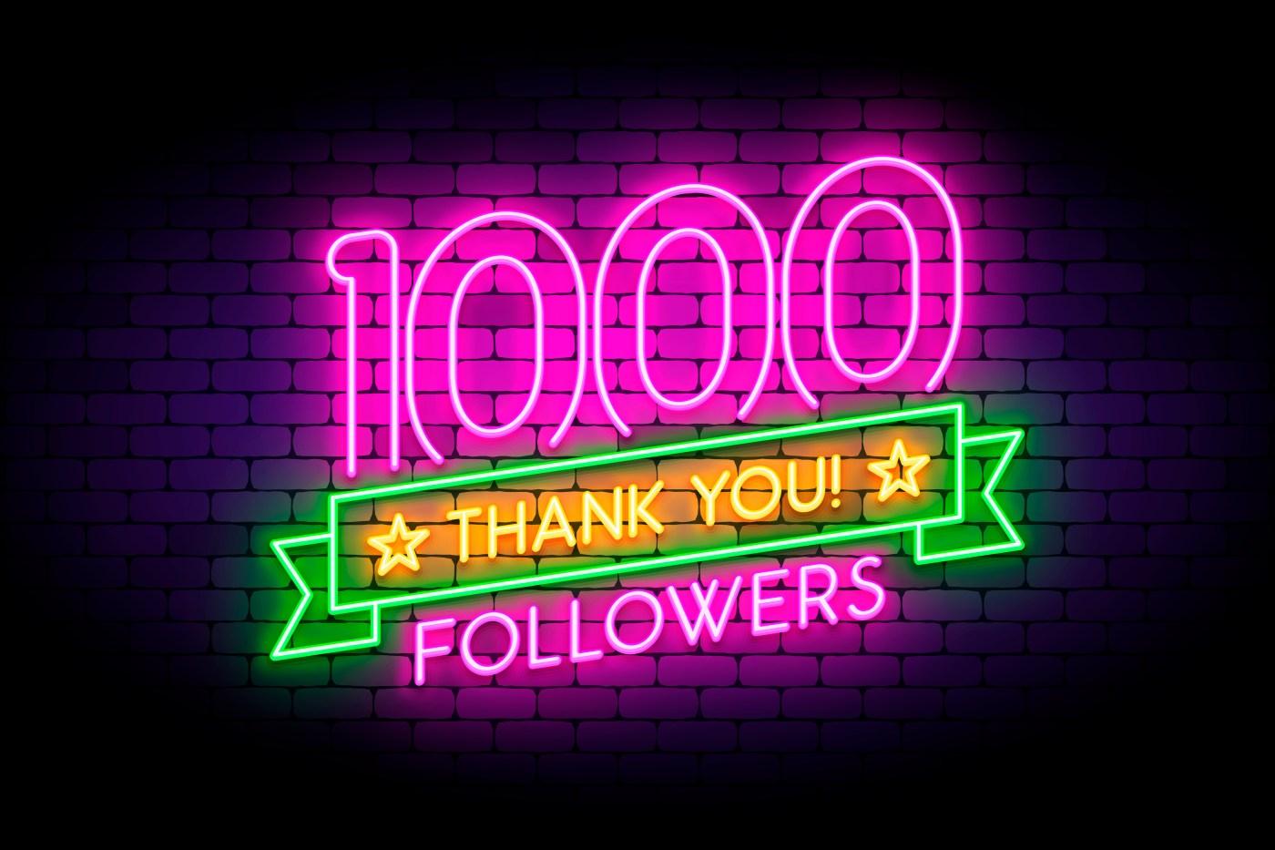 1000 readers