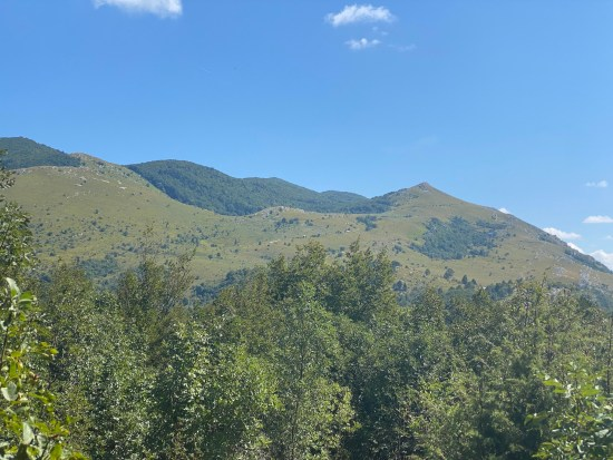 Ascent to Plesa Peak