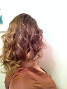 Christmas Day Curls