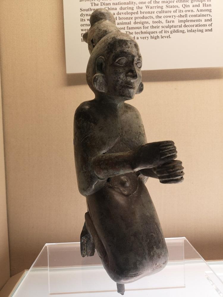 Statue en bronze Han