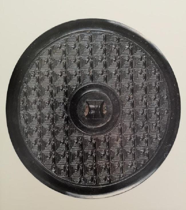 bronze miroir han de l'ouest