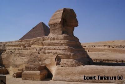 Ноябрь в Египте, Гиза, пирамиды и сфинкс