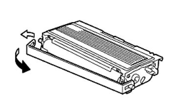 Brother Fax-2820 : Comment accéder à la cartouche et la remplacer
