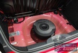 Сабвуфер Pioneer TS-WX610A экономит место в автомобиле