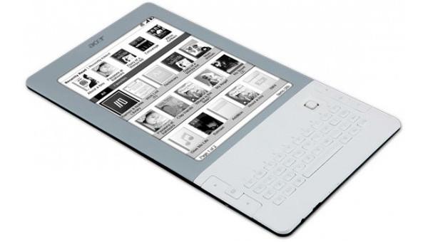 Acer LumiRead - электронная читалка с QWERTY-клавиатурой