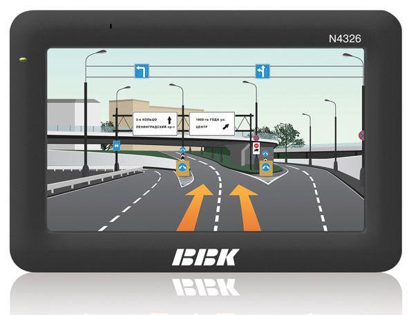 GPS-навигаторы BBK с навигационным сервисом ПРОГОРОД