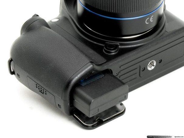 Samsung NX10 - загрузка аккумулятора