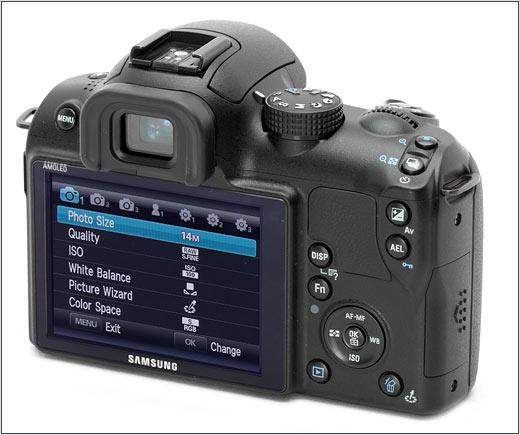 Samsung NX10 - удобное меню и управление