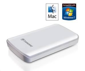 Transcend StoreJet 25D2-W - портативный HDD для Mac