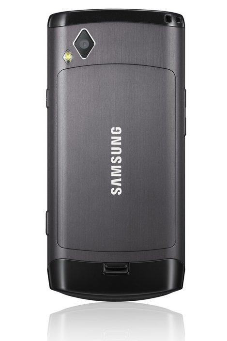 Samsung Wave S8500 - вид сзади