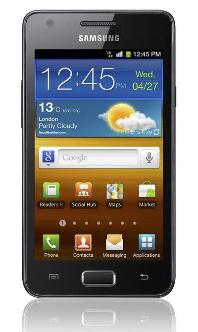 металлический Android-смартфон Samsung