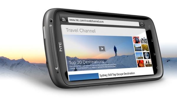 Android смартфон HTC Sensation