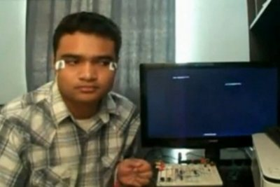 управление компьютером при помощи глаз