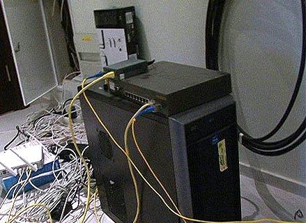 один из бывших серверов ex.ua
