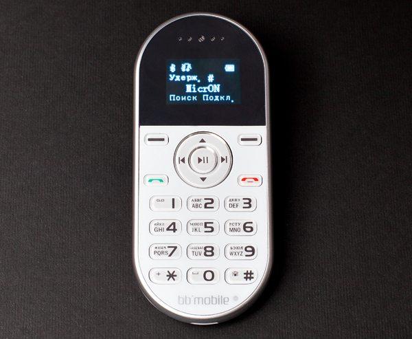 BB-mobile micrON-2: Bluetooth-гарнитура