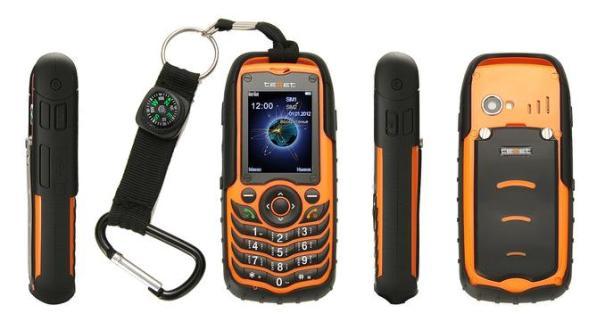 teXet TM-510R - защищенный телефон