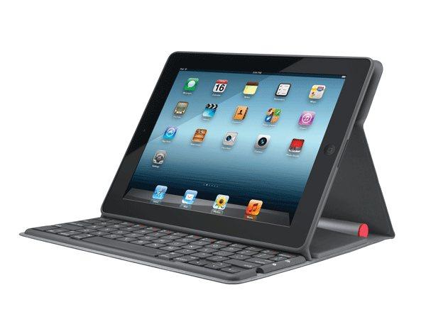 Logitech Solar Keyboard Folio - обложка с bluetooth и солнечной батареей для iPad