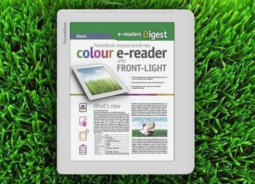 PocketBook готовит первый e-ридер с цветным экраном