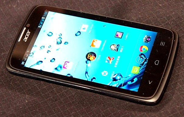 Смартфон Acer на базе Intel Atom