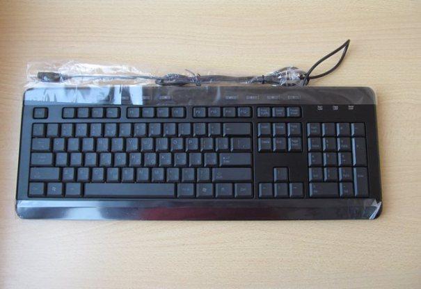 Клавиатура черная Speedlink