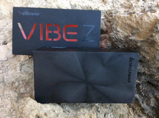 коробка Lenovo Vibe Z