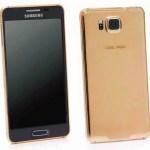 Goldgenie выпустила Samsung Galaxy Alpha в золотом корпусе