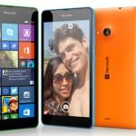 Microsoft увеличила чувствительность экрана смартфона Lumia 535