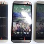 Сравнение дизайна смартфонов HTC One (M9) и One (M8)