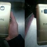 Опубликованы фотографии задней панели золотистого HTC One (M9)