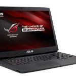 ASUS ROG G751 – геймерский ноутбук с функцией моментального разгона