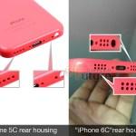 В Сети появилась первые «живые» фото смартфона Apple iPhone 6c
