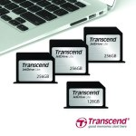 Transcend анонсировала первые на рынке карты емкостью 256 ГБ для ноутбуков MacBook