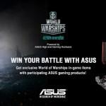ASUS дарит бонусы поклонникам игры World of Warships