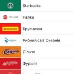 Приват24 собирает дисконтные карты в iPhone
