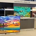 UH9550, UH8500 и др. — новая линейка телевизоров LG SUPER UHD TV