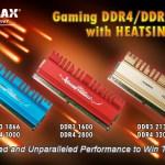 KINGMAX представит игровые модули оперативной памяти ZEUS DDR4 на Taipei Game Show 2016