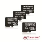Transcend представляет карты памяти microSD промышленного класса на базе флэш-памяти SuperMLC