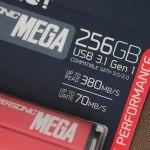 Patriot Supersonic Mega (256 ГБ): металлическая флешка с хорошими скоростями и большой емкостью