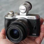 Canon анонсирует выход новой беззеркальной камеры EOS M6