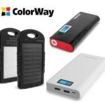 ColorWay добавил в продуктовый портфель новую категорию – Power Bank