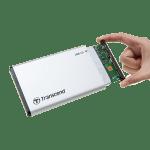 Transcend представляет линейку внешних корпусов для установки SSD или HDD
