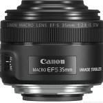 Представлен новый макрообъектив Canon EF-S 35mm f/2.8 Macro IS STM