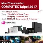 Transcend продемонстрирует высокопроизводительные накопители с интерфейсом PCIe на COMPUTEX 2017