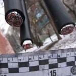В Днепропетровской области правоохранители задержали группу «металлистов» с кабелем Укртелекома
