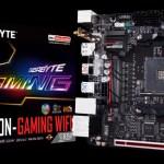 GIGABYTE анонсирует материнскую плату AB350N-Gaming WIFI