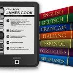 """ONYX BOOX James Cook — доступный букридер с 6"""" экраном E Ink Carta"""