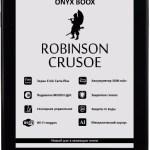 ONYX BOOX Robinson Crusoe 2 – обновленная версия букридера с защитой от воды