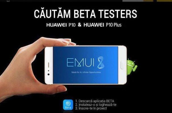Huawei P10 EMUI 8