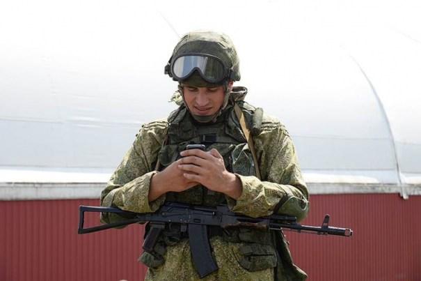 солдат РФ